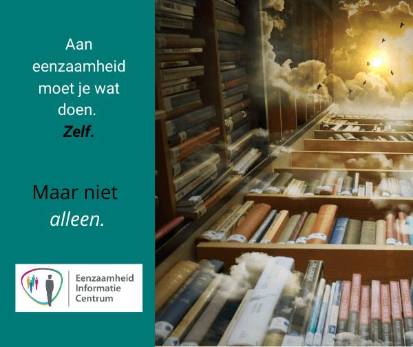 Eenzaamheid Informatie Centrum bibliotheek kenniscentrum by Misticartdesign via Pixabay